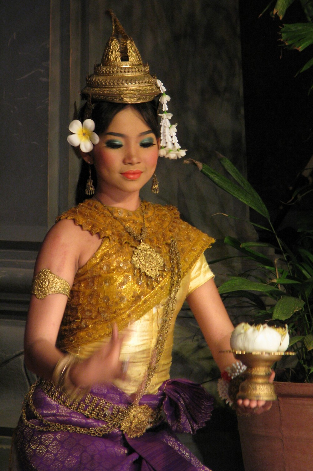 Apsara Dancer in Cambodia Khmer