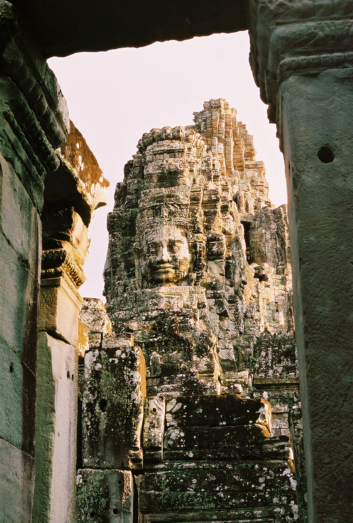 Bayon Temple at Sunset