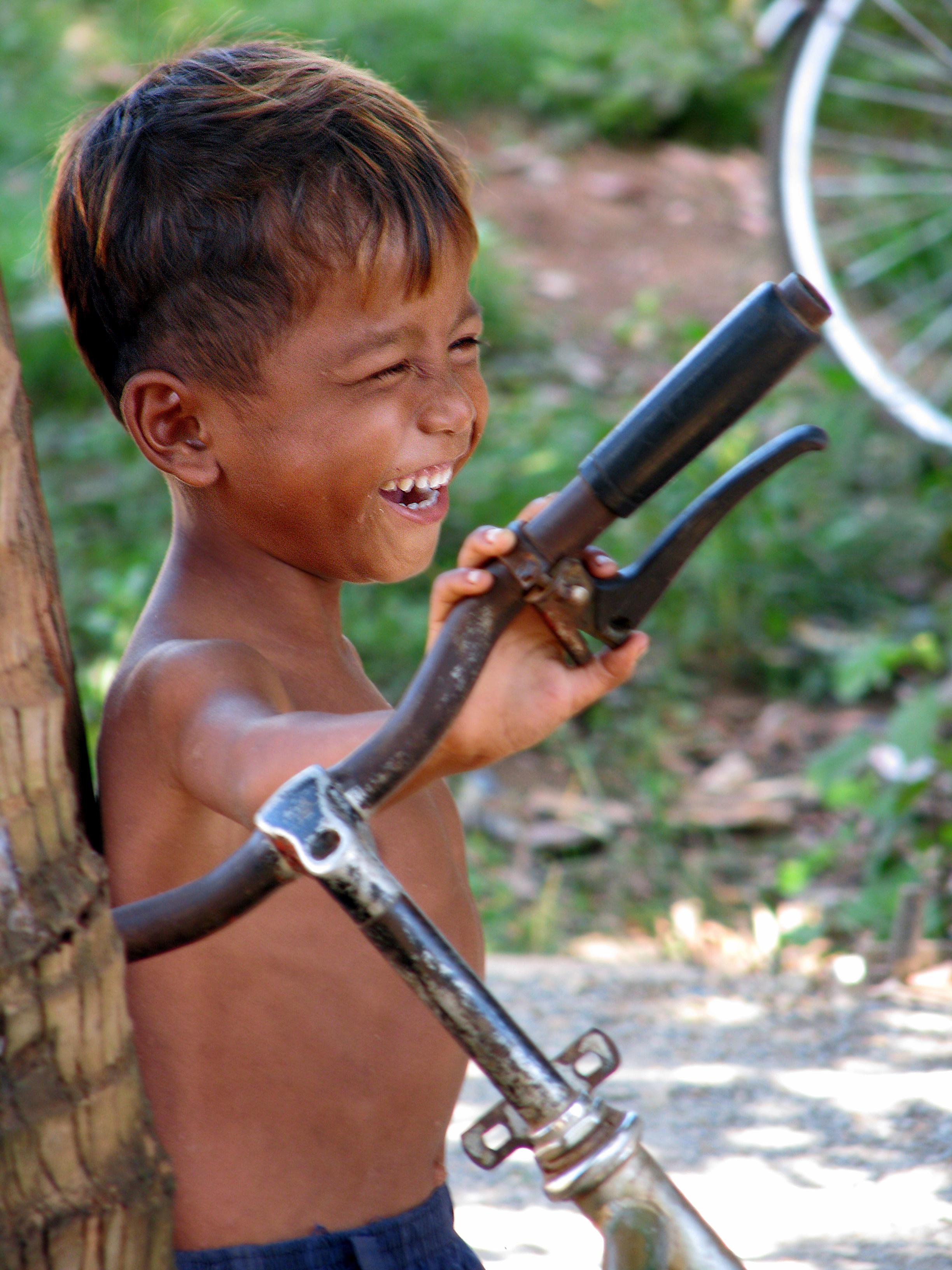 Khmer Boy Smiling