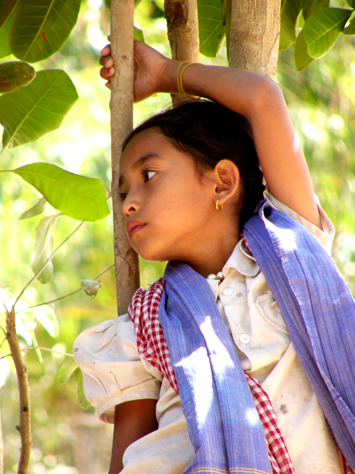 Cambodian Girl Pose