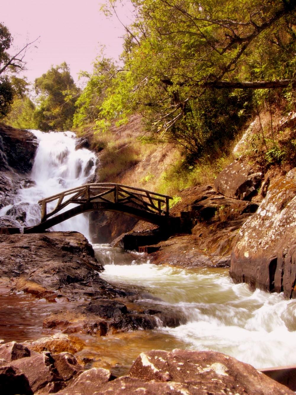 Waterfall in Vietnam
