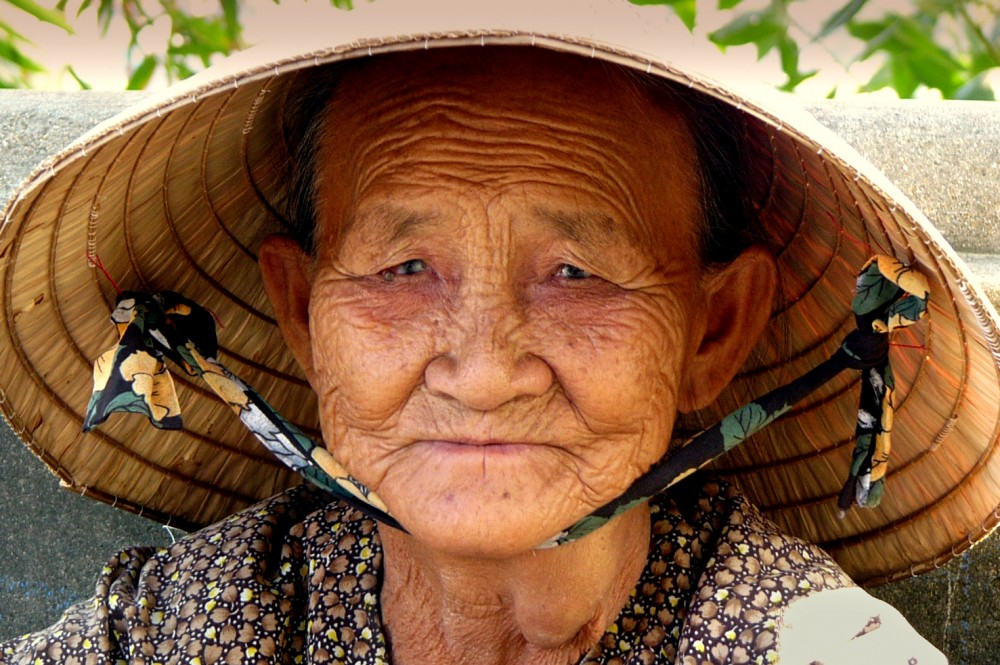 Old Vietnamese Woman