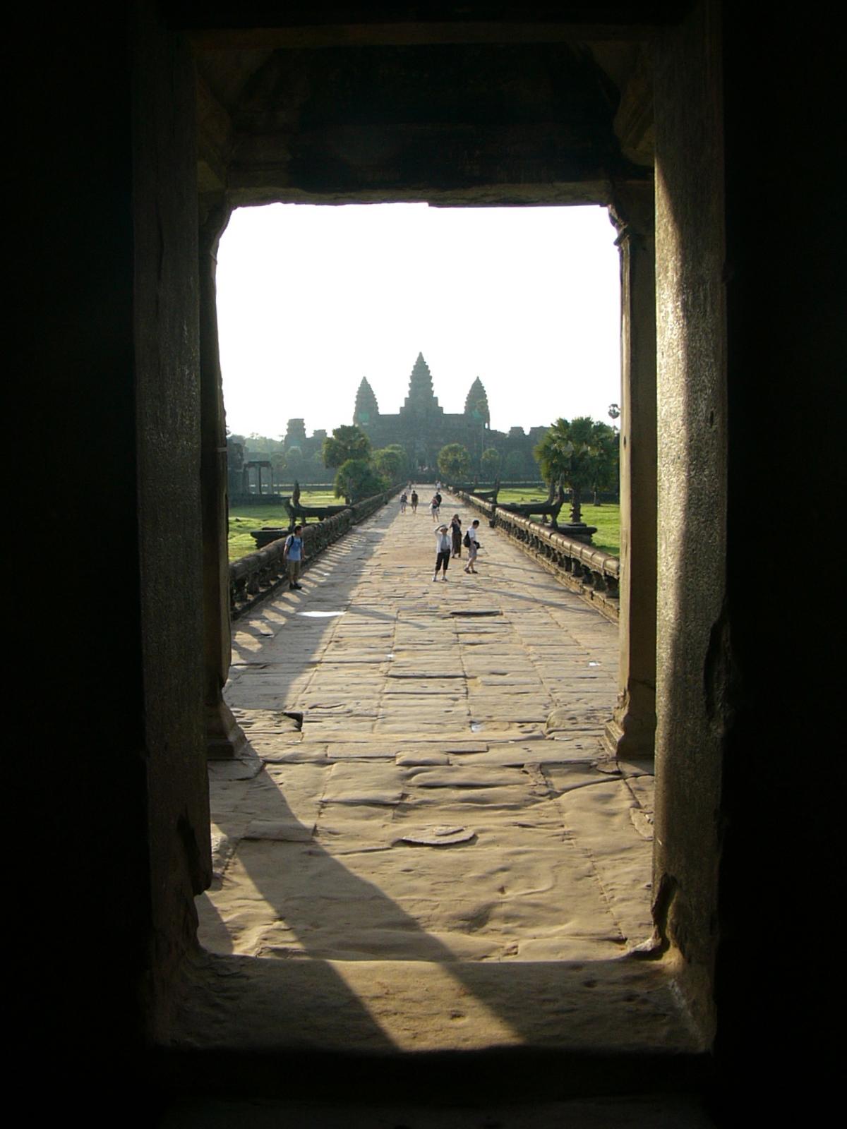 Enter Angkor Wat