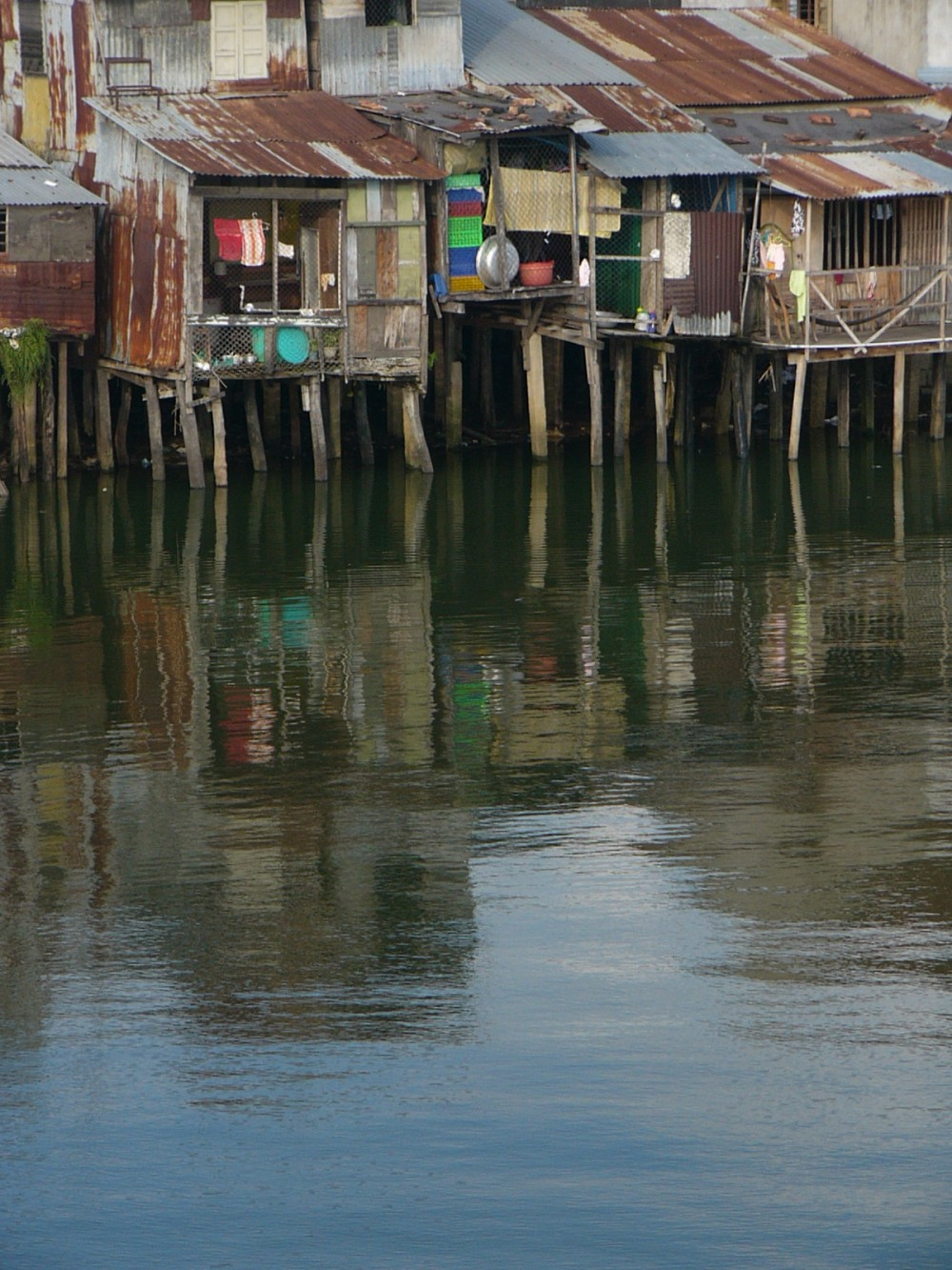 Waterfront Slums in Vietnam
