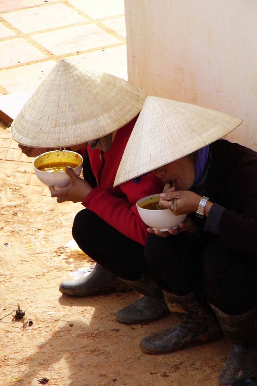Vietnamese Eating Breakfast