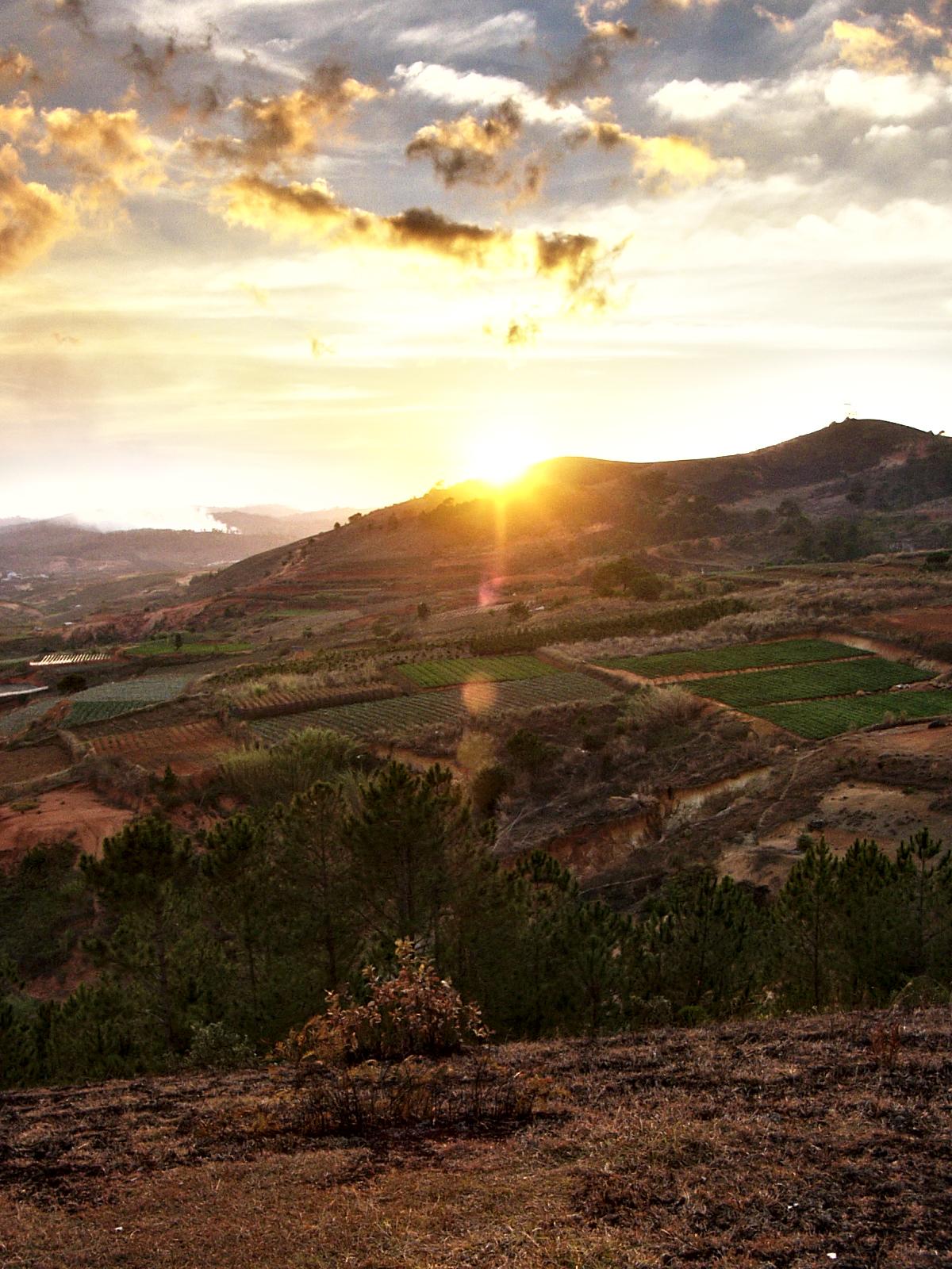 Sunset in Dalat