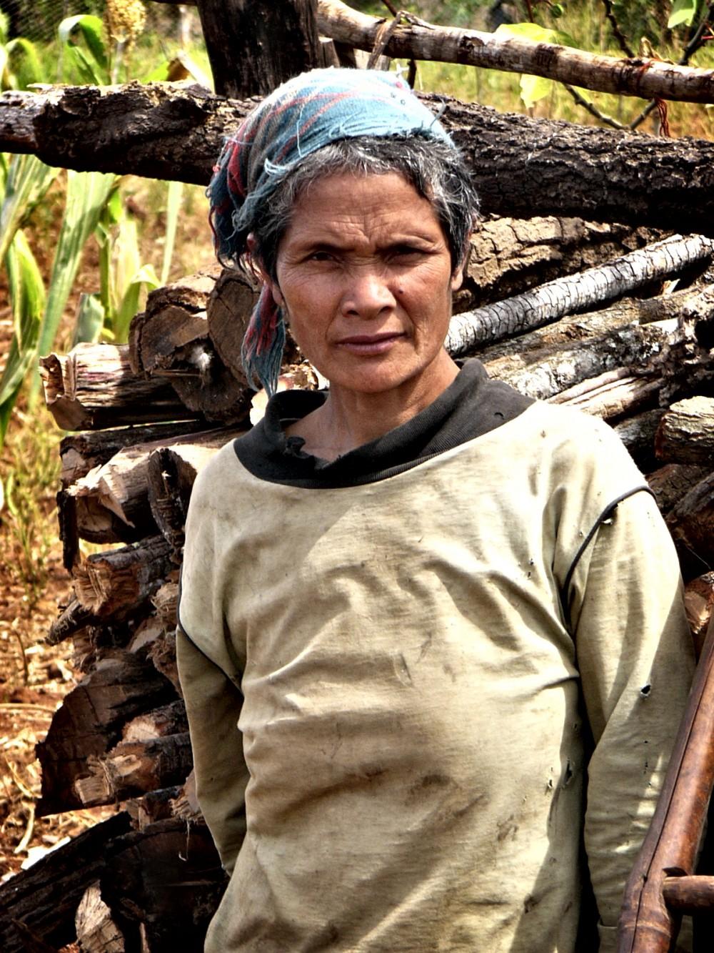 Vietnamese Hilltribe Woman
