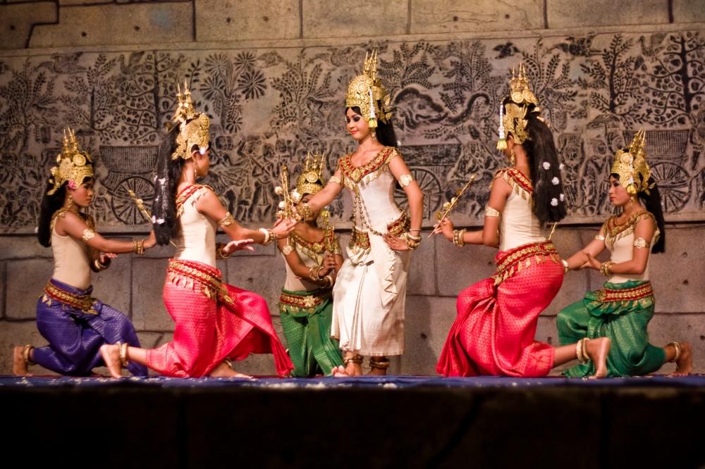 Cambodian Apsara Dancers