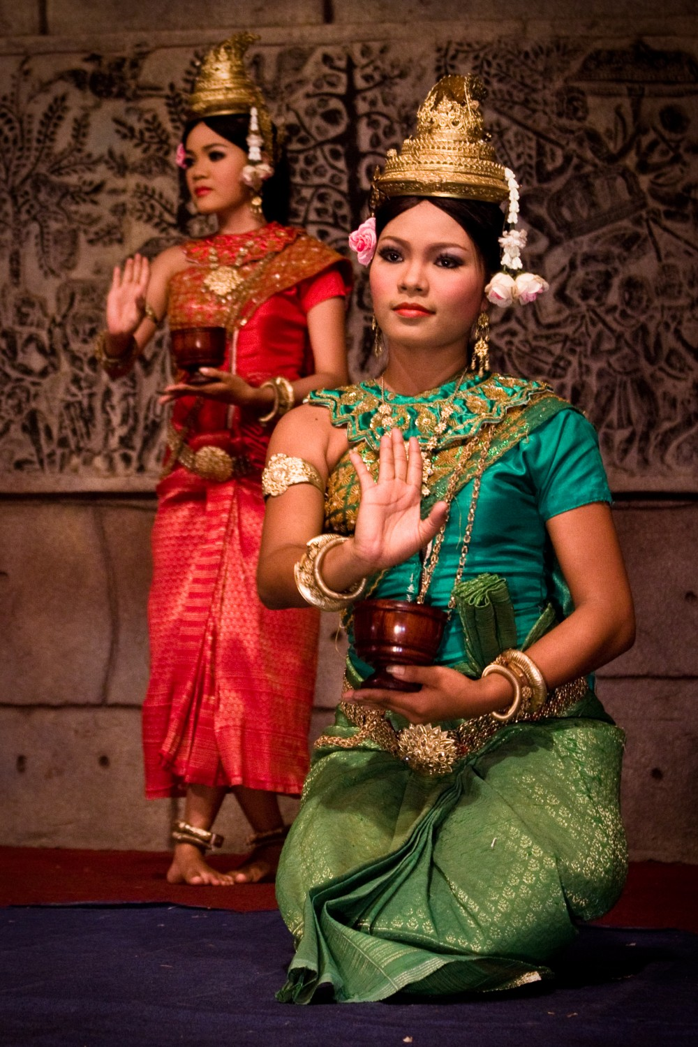 Apsara Dancers in Cambodia