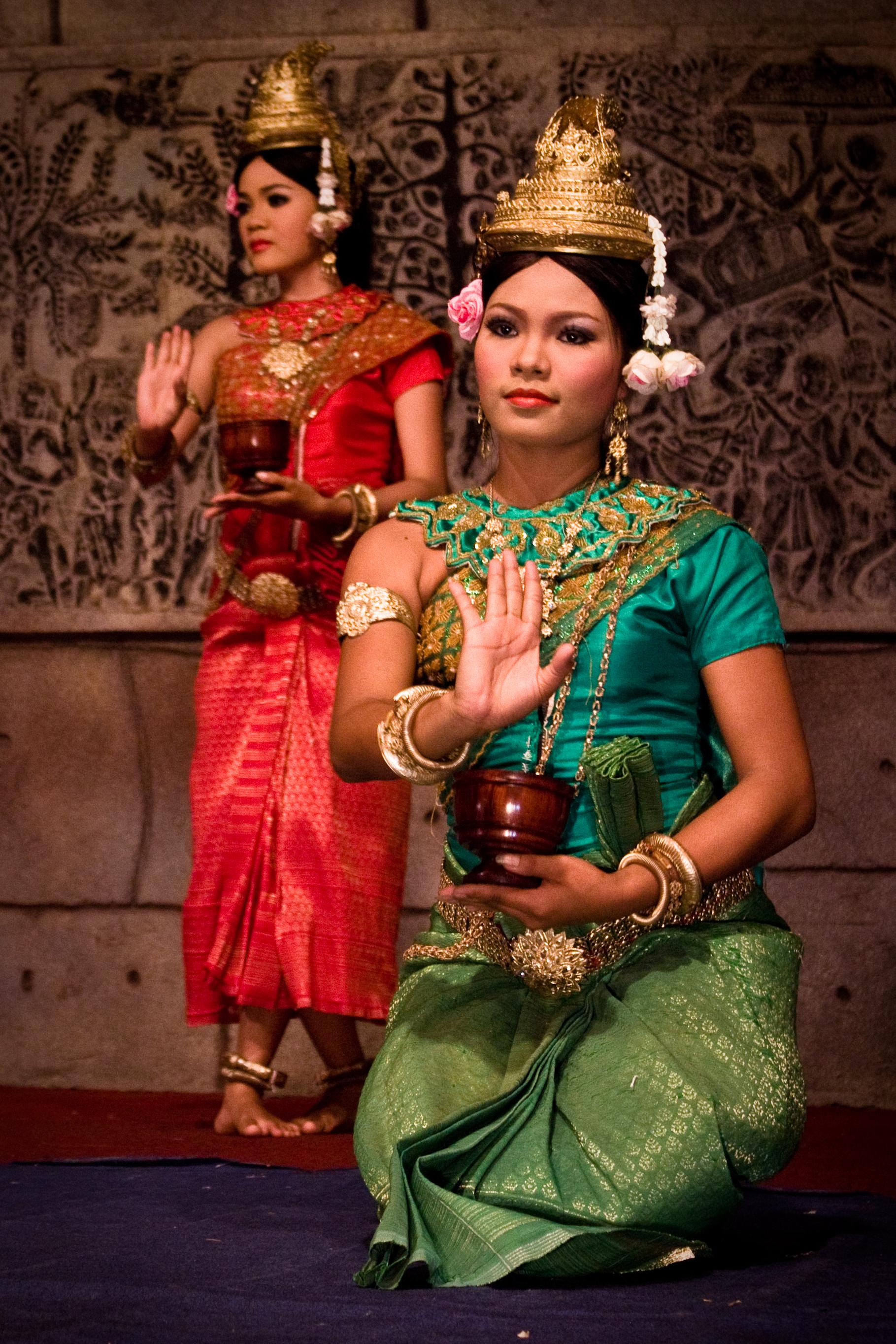 Apsara Dancers in Cambodia