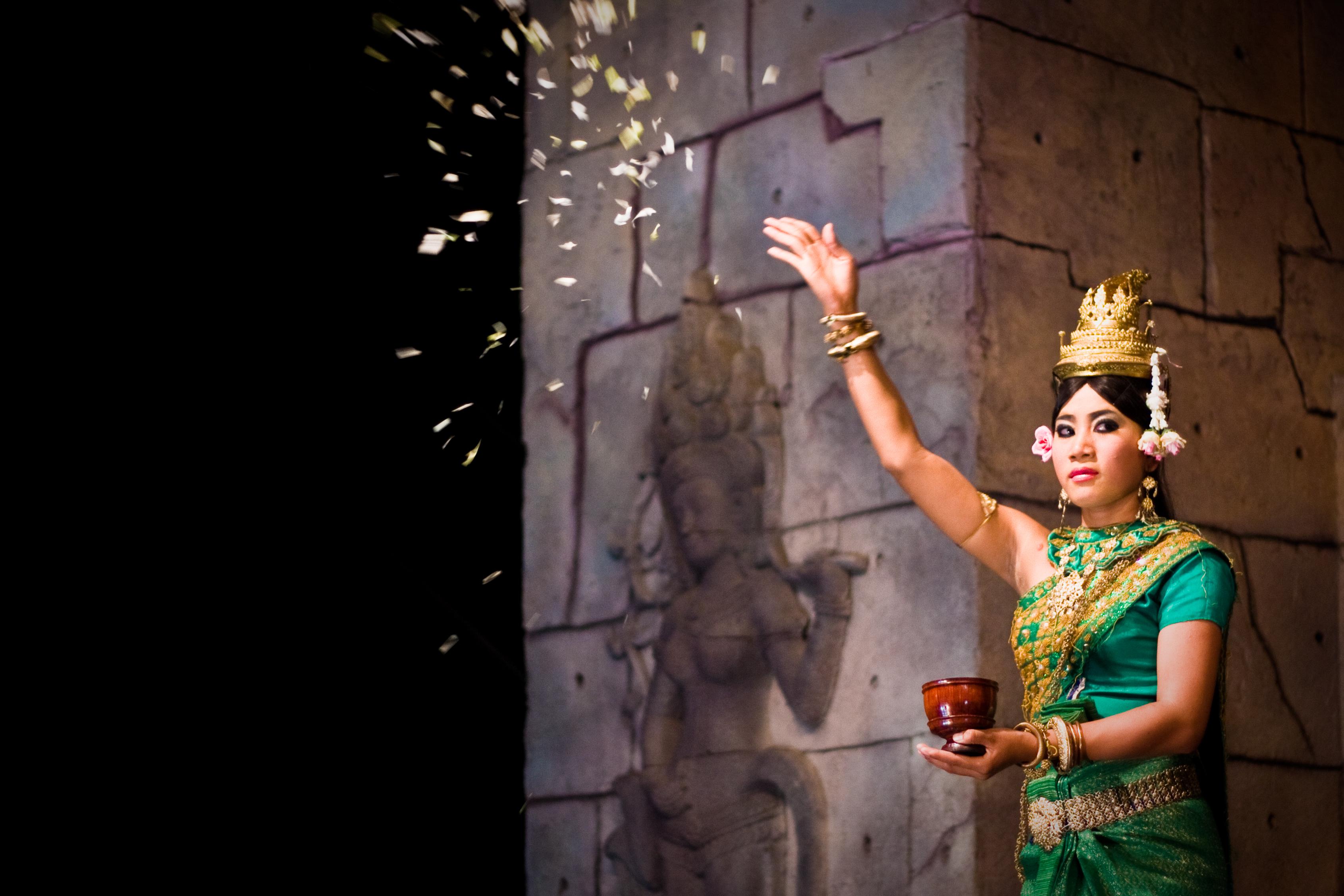 Cambodian Apsara Blessing Dance