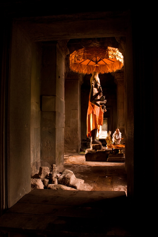 Vishnu Statue in Angkor Wat
