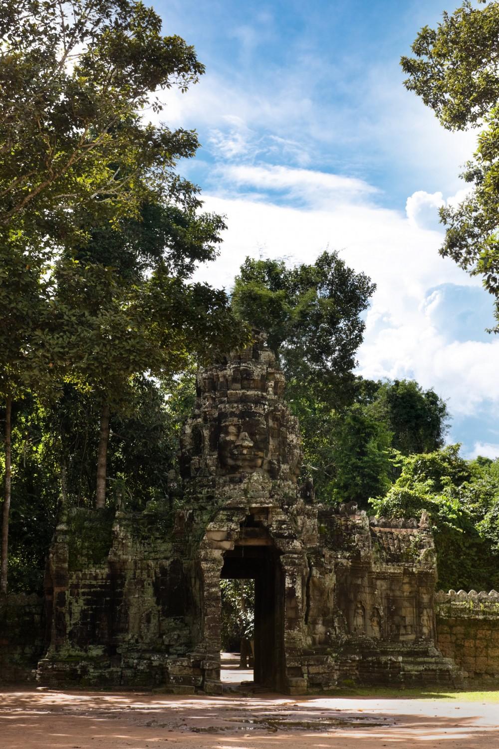 Gate at Angkor Temples