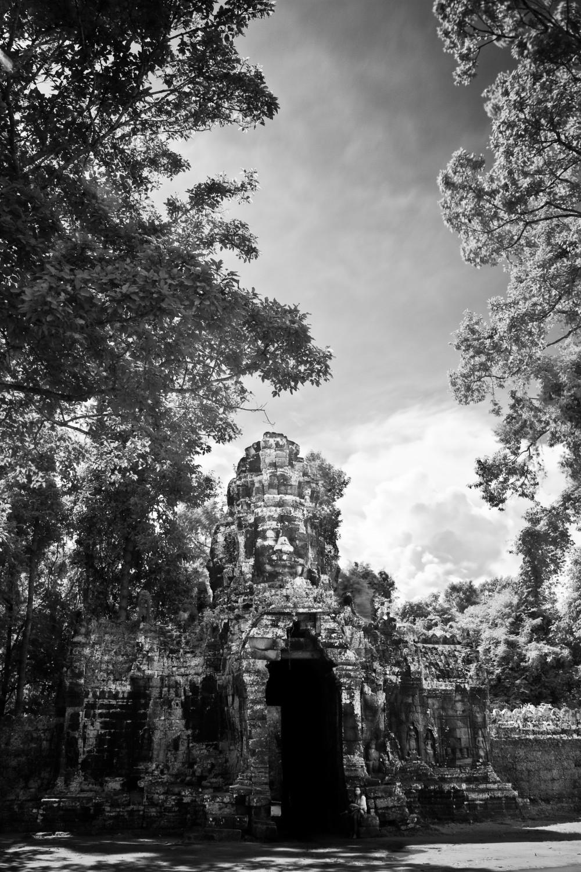 Ancient Gateway to Angkor