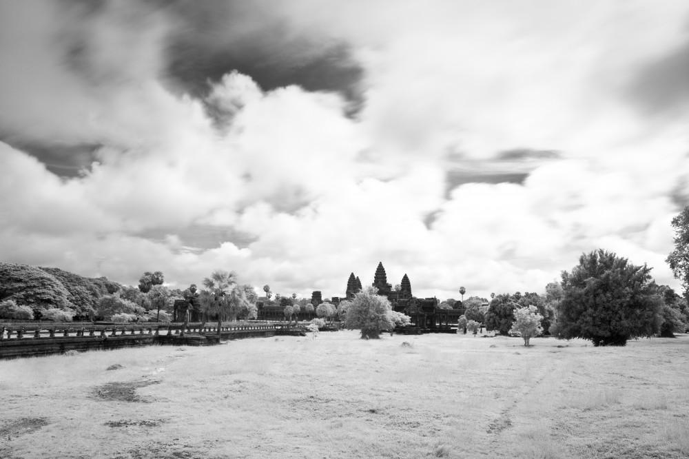 Angkor Wat Infrared