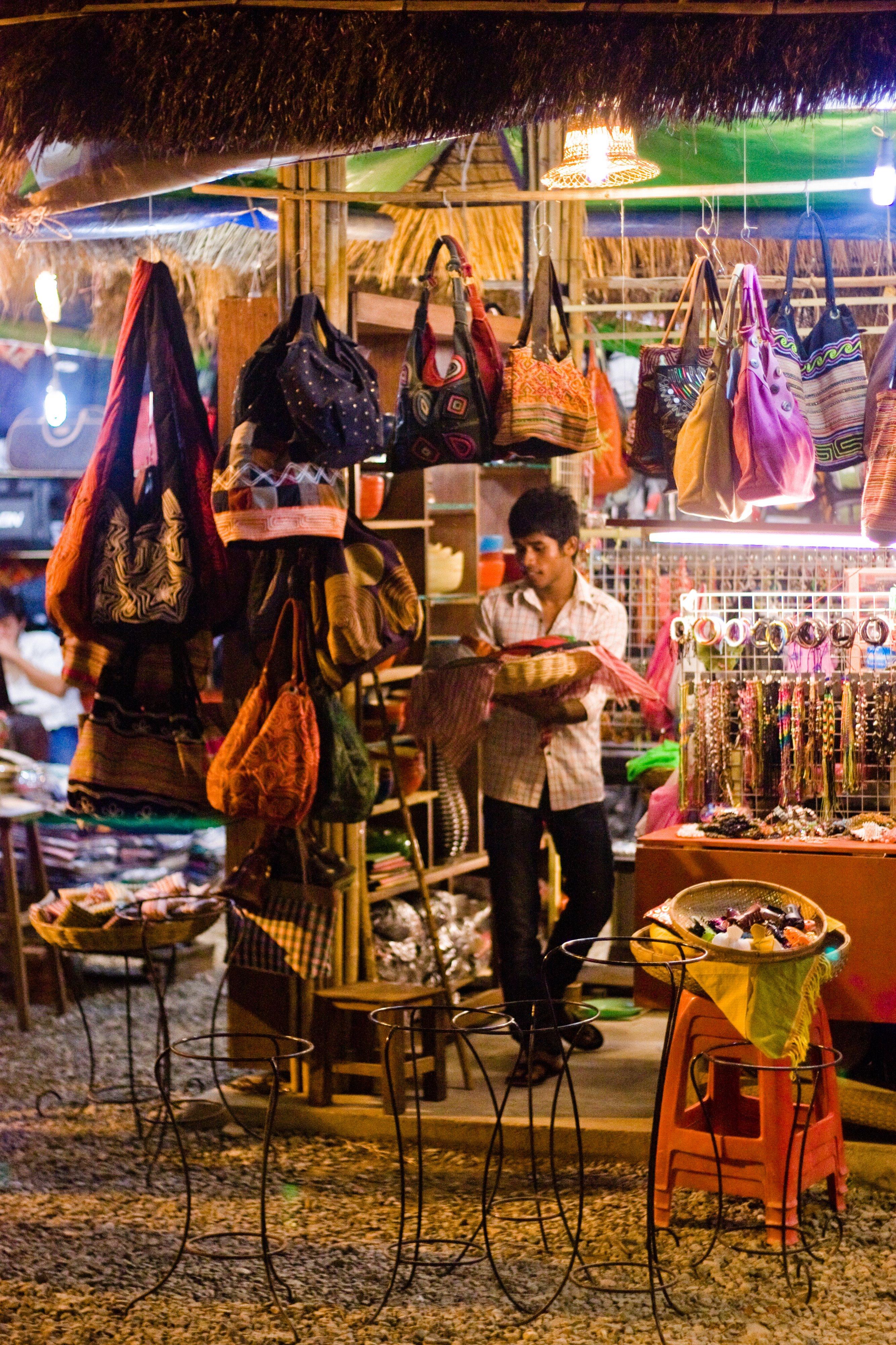Siem Reap Night Market Stall