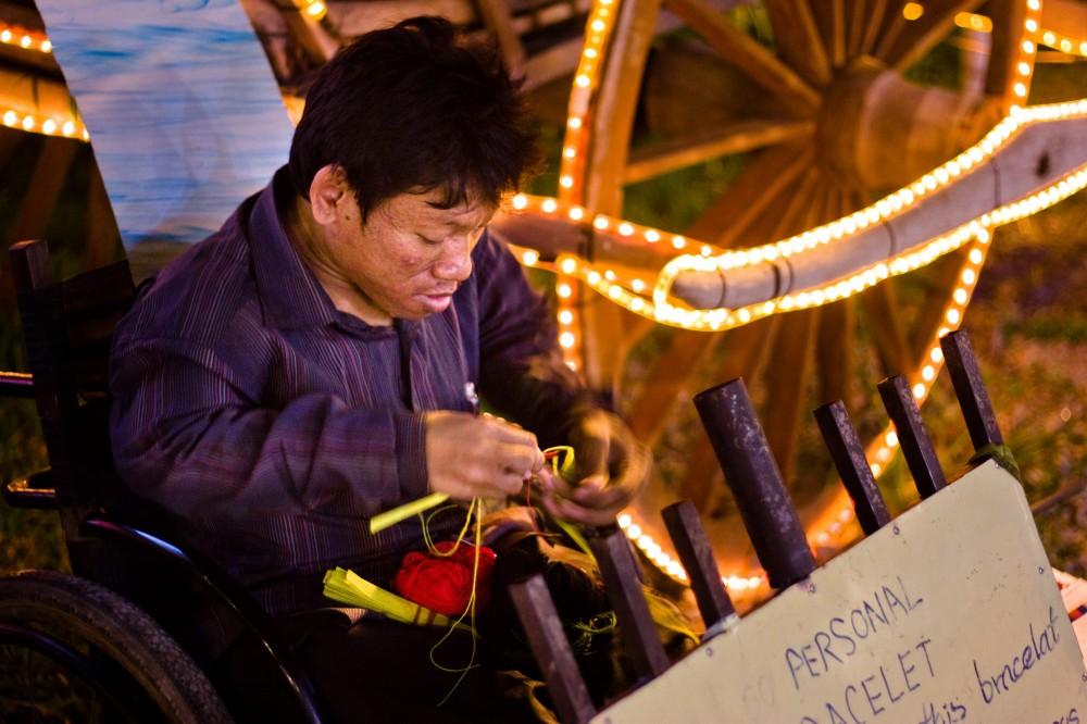 Cambodian Bracelet Maker