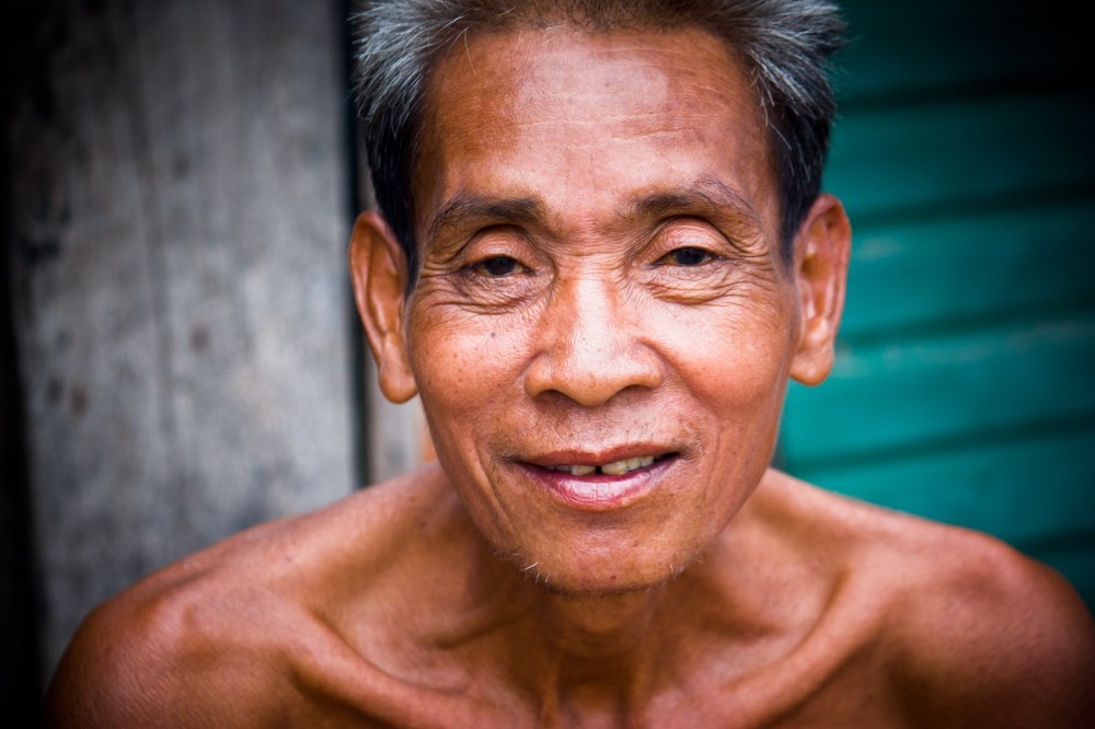 Elderly Cambodian Man