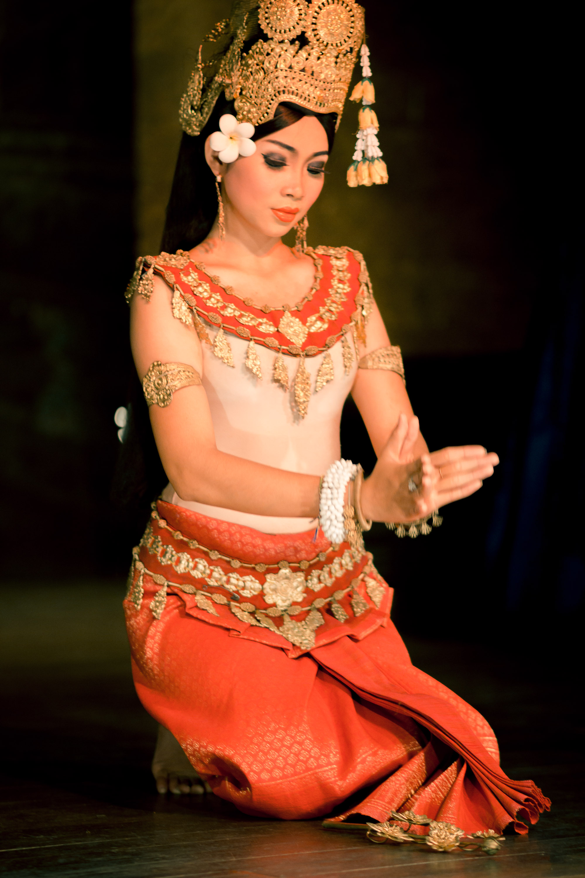 Cambodian Apsara Dancer