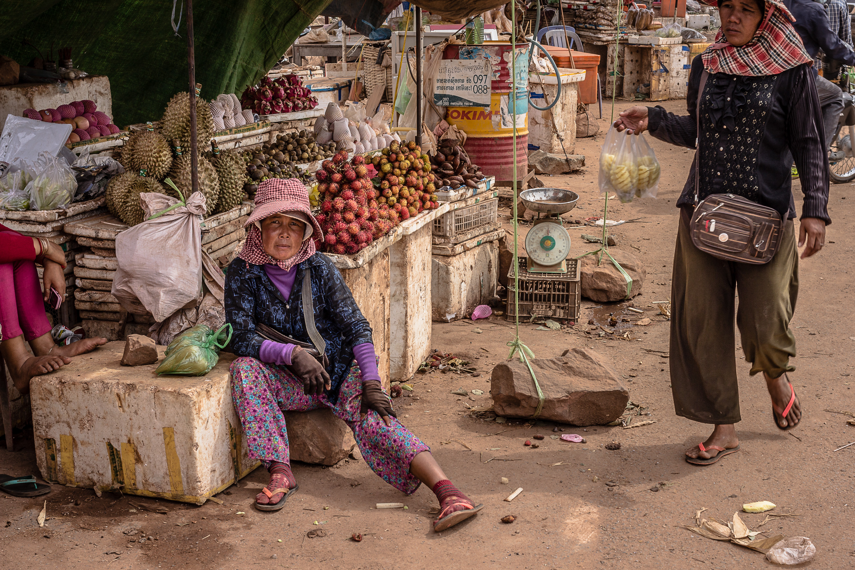 Fruit Seller Cambodia